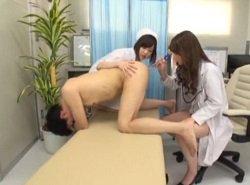 アナルに違和感を感じて肛門科に来た患者に容赦ない前立腺責め