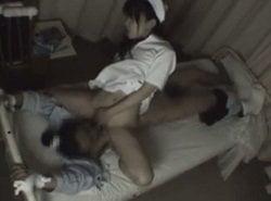 夜勤時に看護士が何人も求めてくるので盗撮してみた記録的映像が流出?